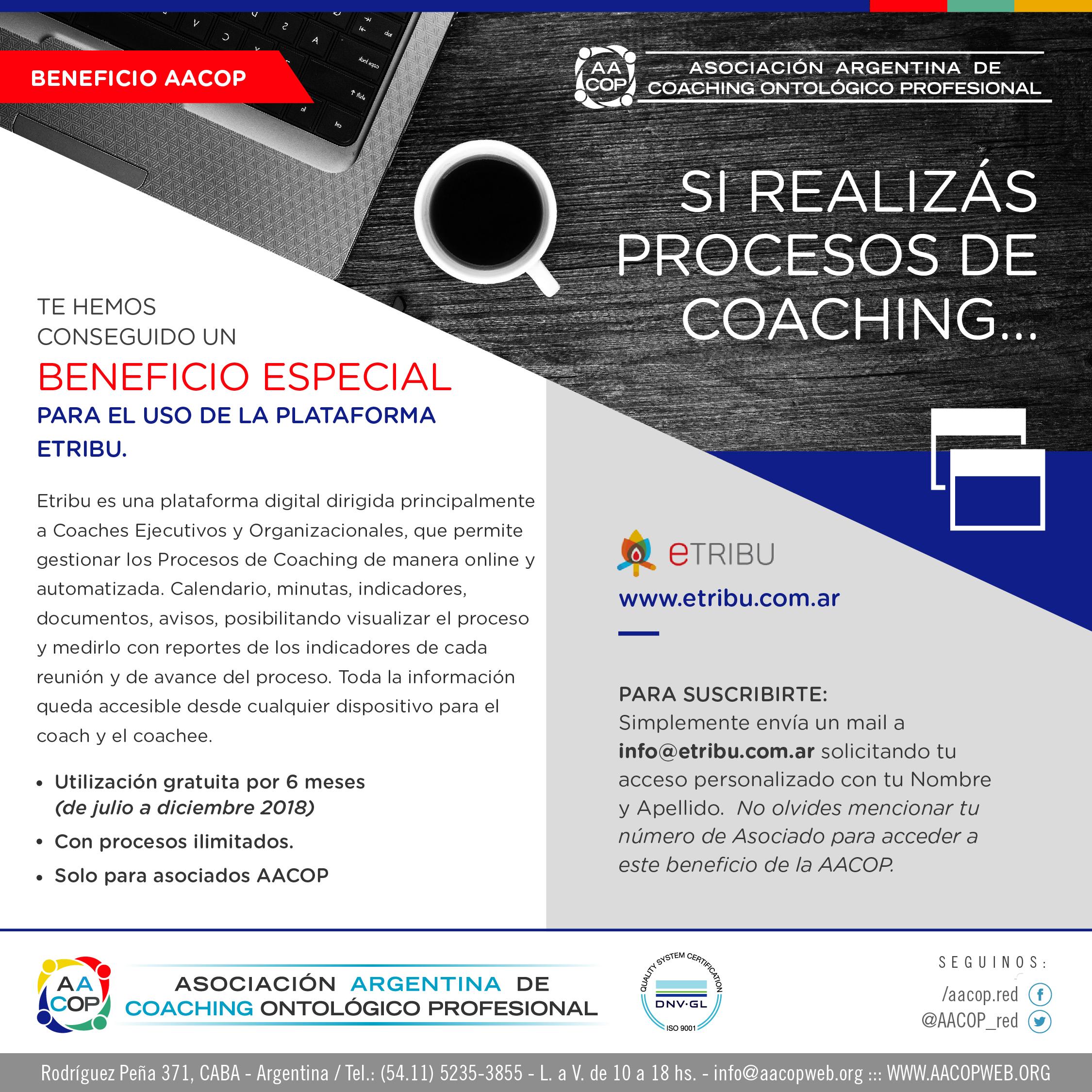 Beneficio especial para procesos de Coaching | imagen