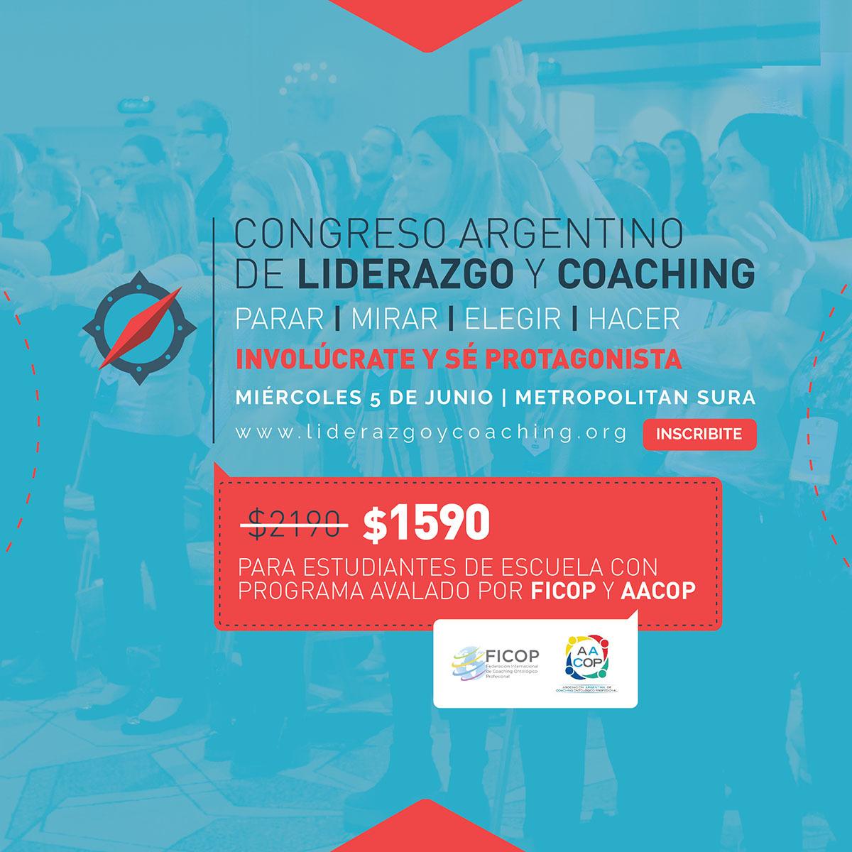 ¡IMPERDIBLE! Llega el Congreso Argentino de Liderazgo y Coaching | imagen